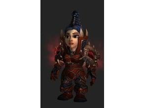 Rogue Slayer Shoulders & Helm