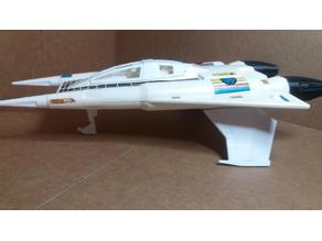 Buck Rogers Starfighter repro parts mego