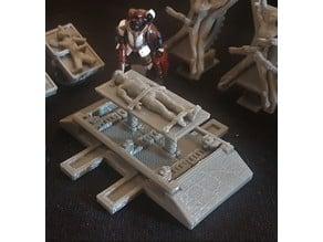 Body Lift / Operating Table 40K Scatter Terrain