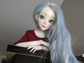 Polaris: Double jointed ball jointed doll (1/3 BJD)