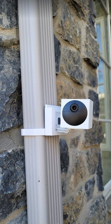 Wyze Outdoor Downspout mount.