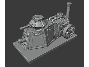 Warmaster Empire Steam Tank