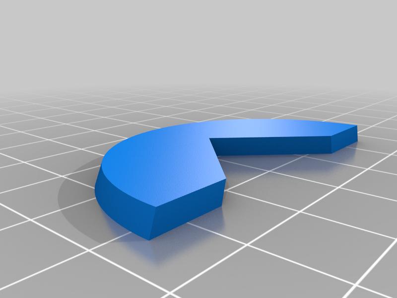 Mini Paint Holder Shim 50mm Round to 20mm Square Base Paint Handle Shim