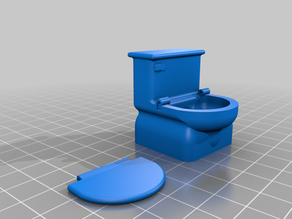Duplo Toilet with seat
