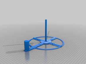Horizontal coil support 3Kg - Support pour bobines de filament de 3 Kg