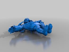 blood bowl ogre - t-model