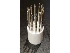 T12 / T15  / TS100 soldering tip holder