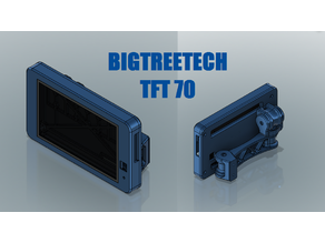BigTreeTech TFT70 Swivel Mount (2020 Extrusion)