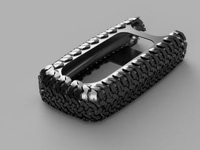 Suzuki Grand Vitara keys cover with BFGoodrich texture