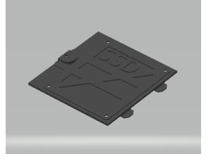Coolermaster SSD mount