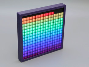 16x16 NeoPixel Square Pixel Display