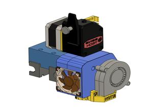 Solidoodle 3 BMG + E3D V6 Mount