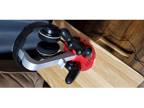 PS4 dual controller charger with headphone stand