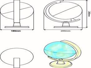 3D4KIDS exercise: The Globe
