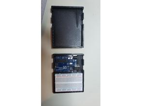 Case for Arduino and small breadboard