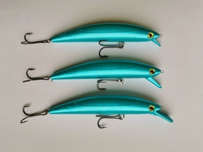 Wobbler 2 Fishing Lure 100mm (3 different lips)