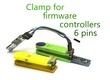Clamp for firmware controllers 6 pins