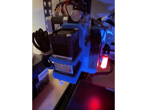 Laser Mount for Creality CR10-V3(V2 with direct drive)