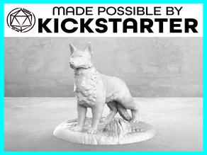 Dog - Casual Pose - Tabletop Miniature
