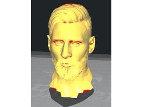 Leo Messi bust