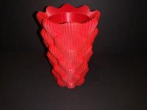 Sine cube vase planter