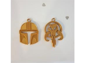 Mandalorian Keychains