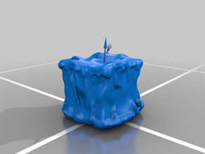 Gelatinous Cube Miniature for D&D