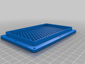 Air inlet grille for printer box