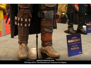The Mandalorian Left Leg Armour