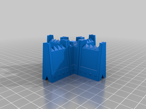 Modular Barricade and Wall System For Tabletop Gaming, Warhammer 40k and more.
