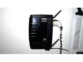 FritzBox 7240 wallmount adapter