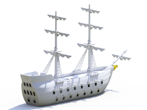 Modular Warship XVII century inspired