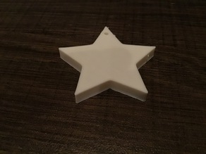star keychain/ornament updated