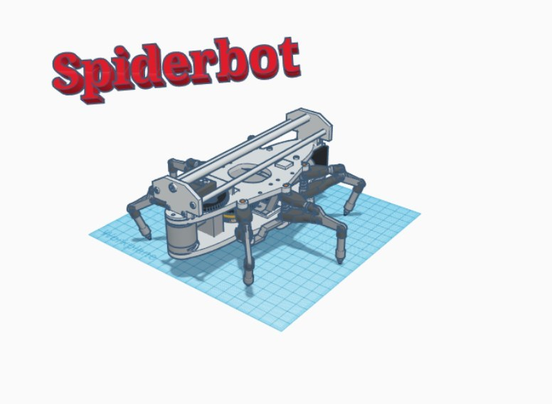 Spider-Bot from the movie Runaway