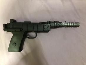 IMPERIAL GUNNER / AT-ST DRIVER / ENDOR PRINCESS LEIA BLASTER INSPIRED BY KENNER 1984 ACTION FIGURE