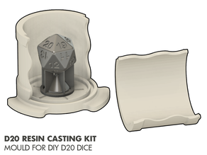 DIY D20 - Resin Casting Kit