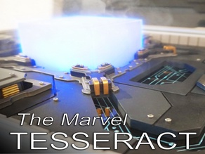 "The Marvel ""Tesseract"" Cube from the Avengers movies"