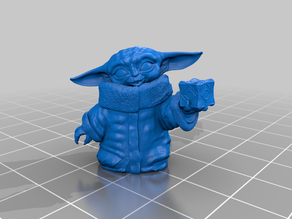 Baby Yoda with Holocron