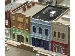 HO Scale Main Street  Ten, Eleven, and Twelve