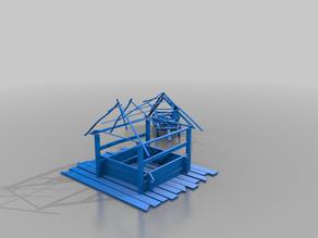 desert shack - terrain