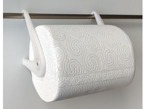 Paper towel holder, 16mm rail or Ikea KUNGSFORS