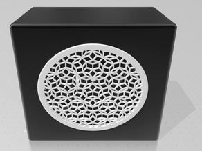 Speaker with penrose grill