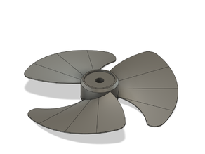 fan body and blades