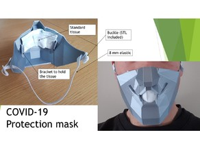 Protection mask / masque - Covid-19 urgency