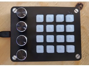 Mini UNTZtrument Midi Controller - Pro Micro Remix