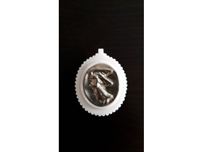 Pendant for pressed coin