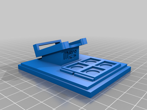 Raspberry Pi 4 Mini Desktop Case - Ice Tower Cooler - Top Remix