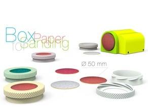 Box for Sanding Paper