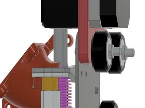 ENDER 3 / CR-10 DD BMG/Titan to MK10 Adapter (Parametric) + Source