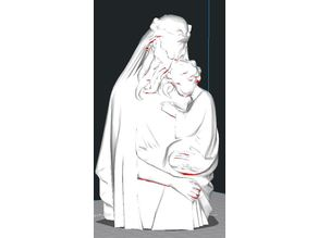 Cthulhu Our Saviour Statue - Cut to waist